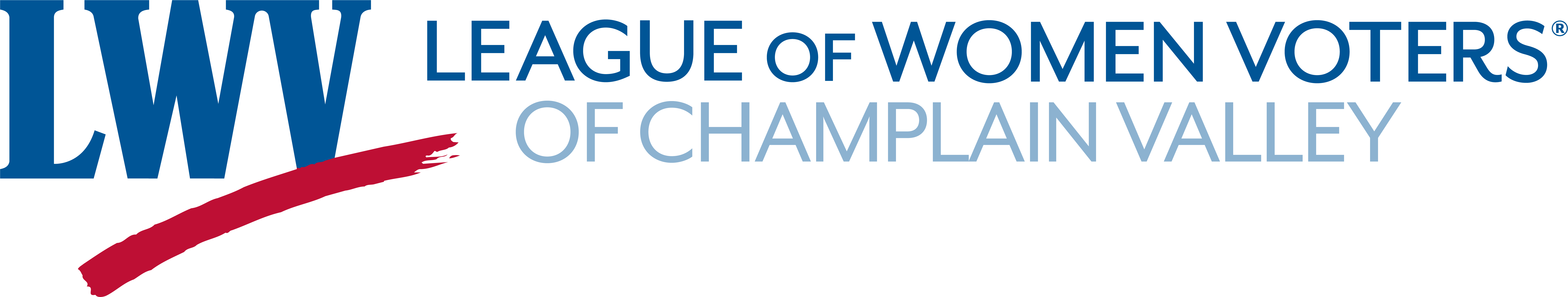 Champlain Valley League of Women Voters Logo