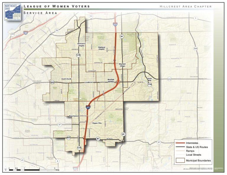 Hillcrest Map