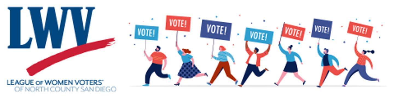 LWVNCSD Vote Banner