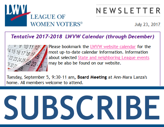 Subscribe to LWVW!