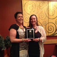Lisa Plencner, 2013 Maude Wood Park Award Recipient
