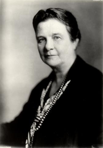 Belle Sherwin, from Cleveland, LWVUS president from 1924-34