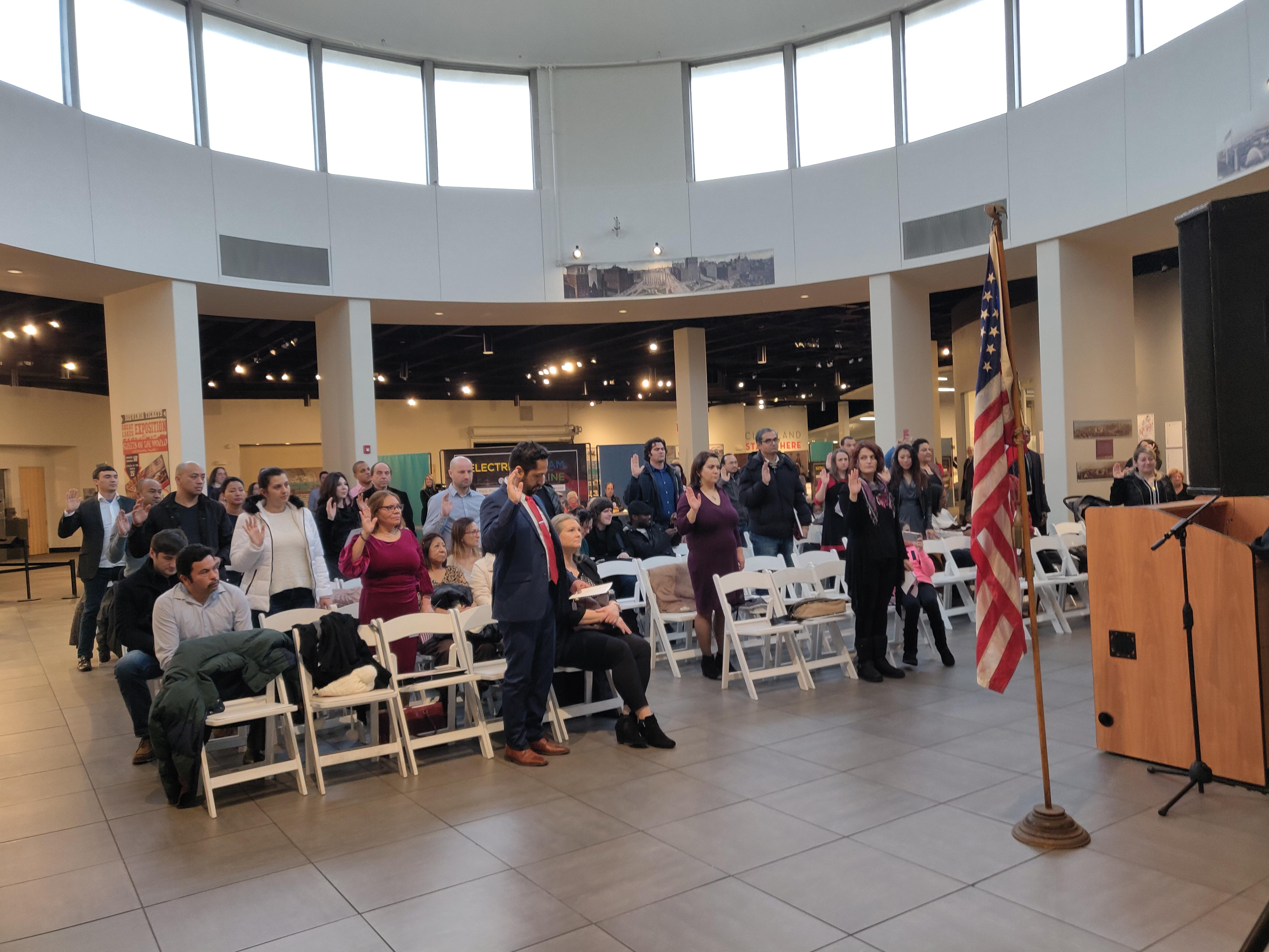New Citizens at December 5 Naturalization Ceremony