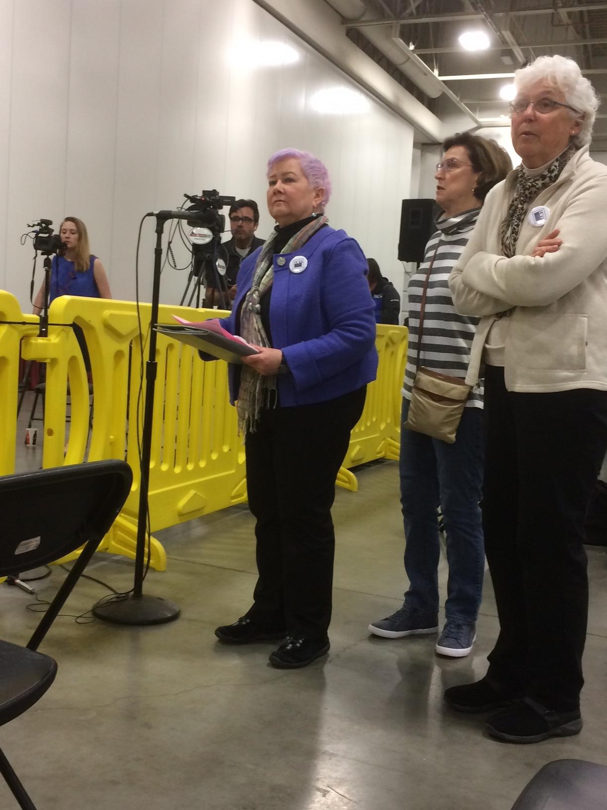LWV Milwaukee County press conference