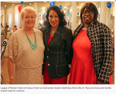 News Corpus Christi LWV members 2015