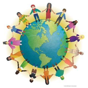 One World image used by Creating Communities Beyond Bias