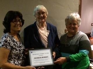 Pat Murray Democracy Works Award recipient 2015