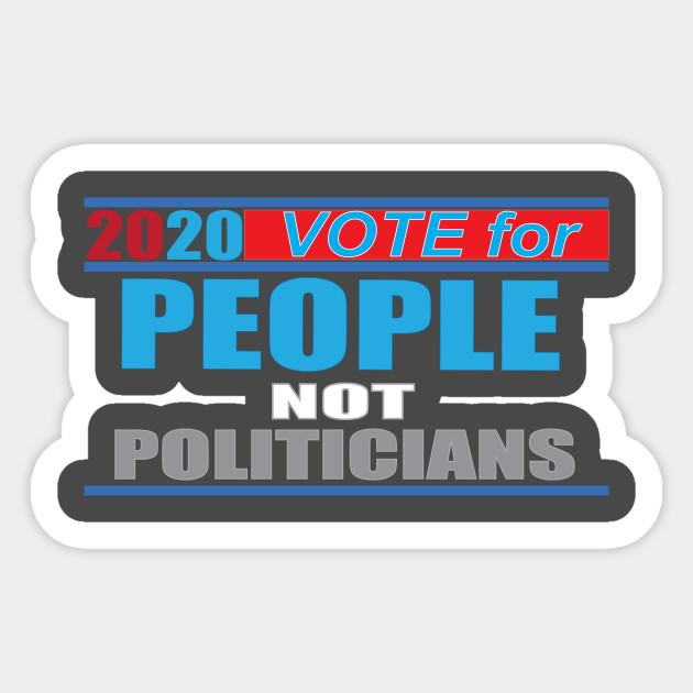 people, not politicians