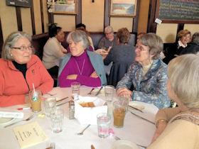 Members attend Winter Blahs Luncheon (2012)