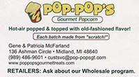 Pop Pop's Gourmet Popcorn
