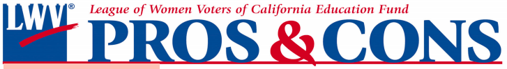 LWV Pros & Cons Logo