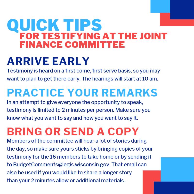 JFC Quick tips