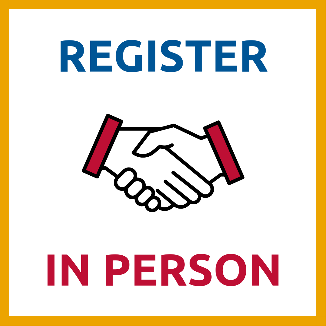 register in person