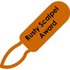 Rusty Scalpel Award