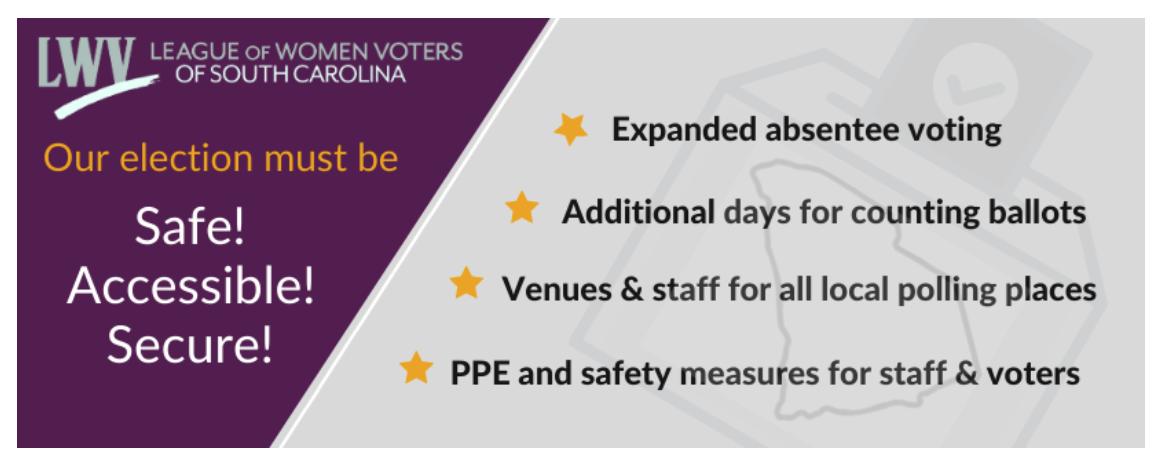 Safe Voting Precautions