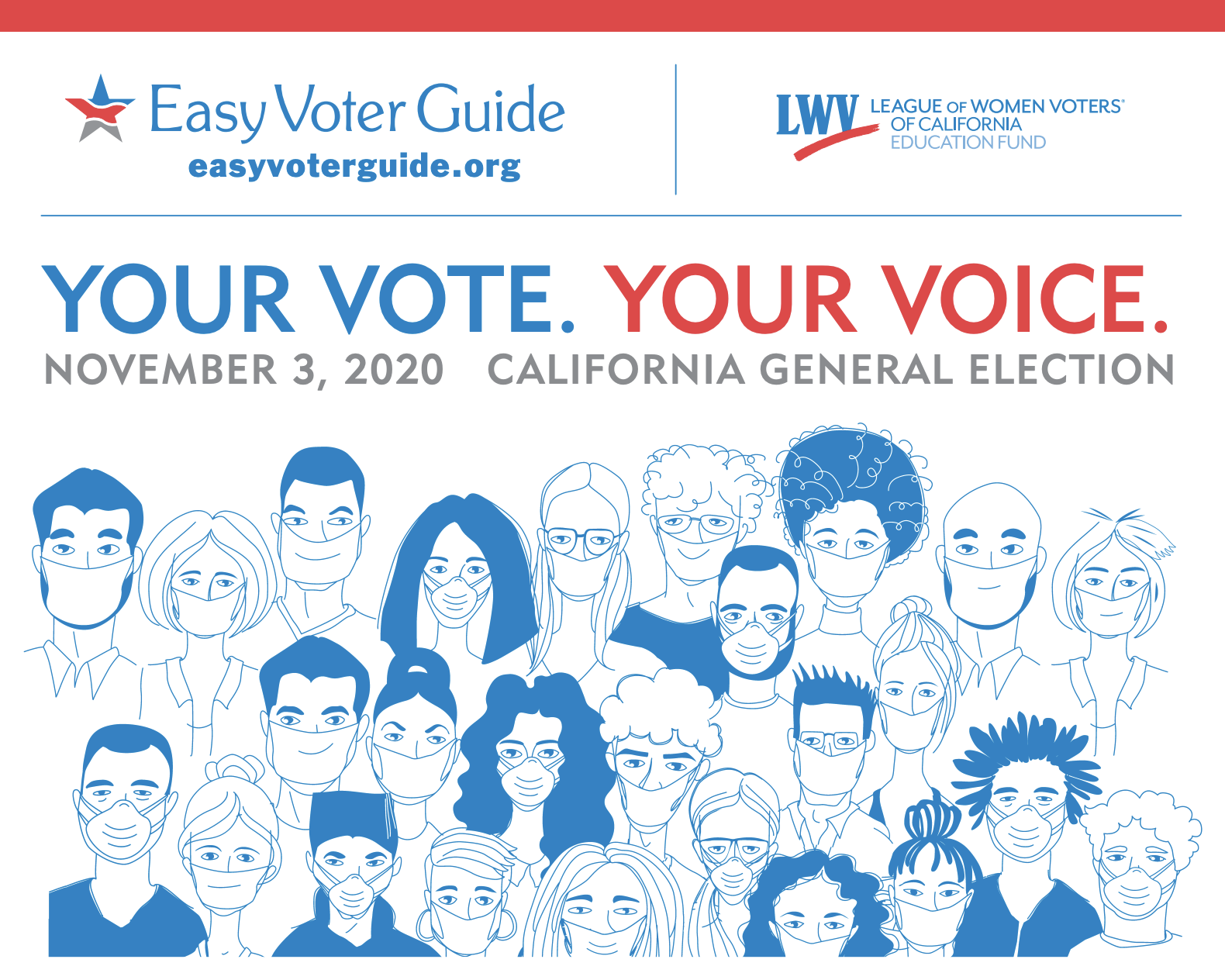 Easy Voter Guide 2020