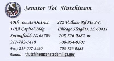 Senator Toi Hutchinson