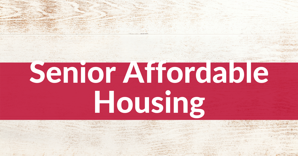 Senior Affordable Housing Header