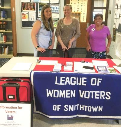 Smithtown Library Youth Voter Registration Drive