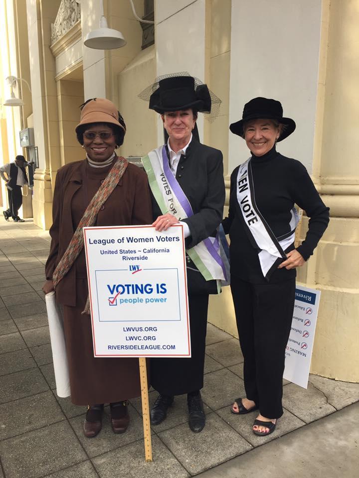 LWVR Women's March
