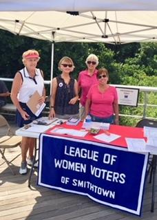 Voter Registration Drive at Sunken Meadow Park - July 29, 2018