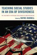 cover of book Teaching Social Studies in an Era of Divisiveness