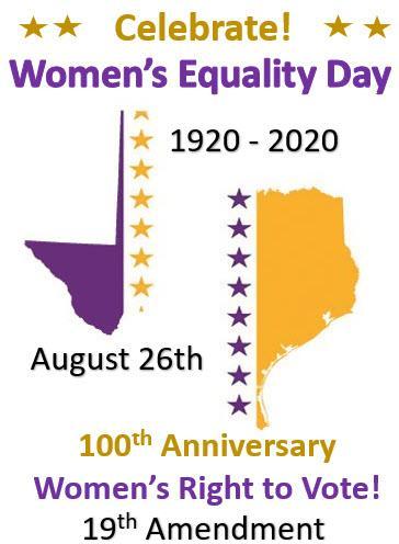 Celebrate 100th anniversary of 19th amendment