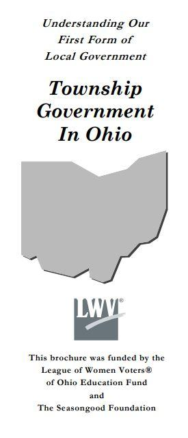 Township Government in Ohio flyer cover