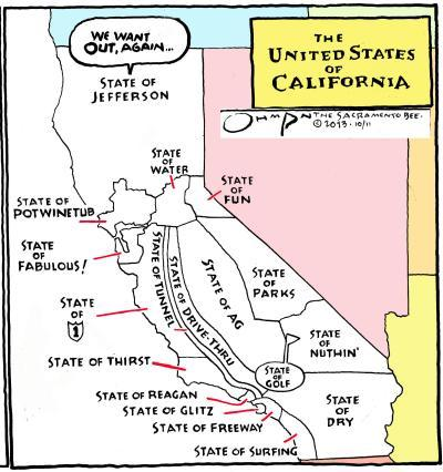 Comic - The United States of California