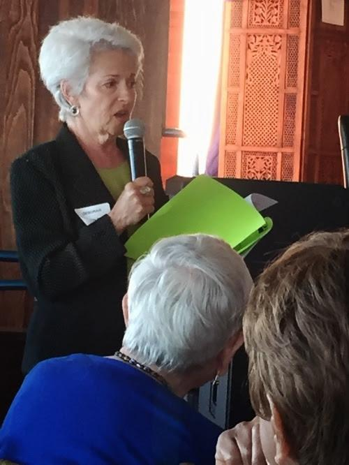 Photo of Deborah Shefler at Annual Meeting