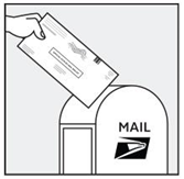 Mail your ballot using the USPS