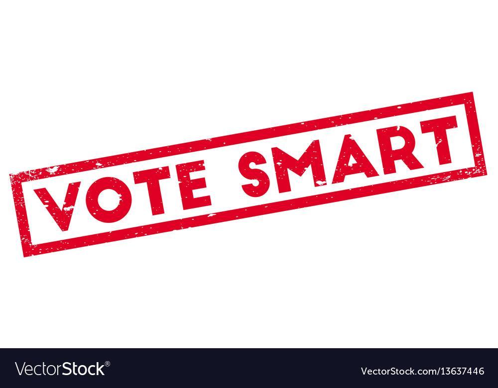 vote smart vector