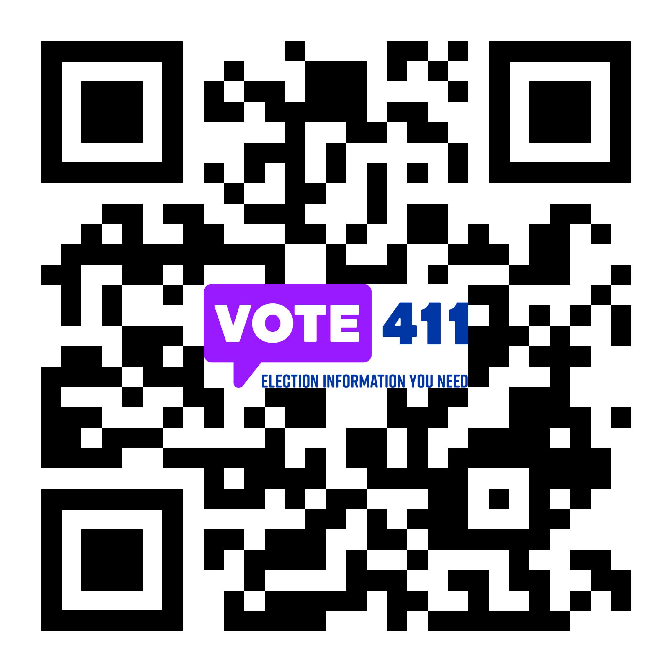 vote411.org QR Code