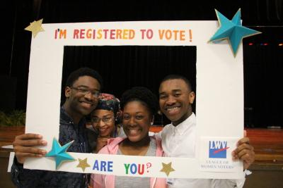 HS Voter Registration Event - I'M REGISTERED TO VOTE!  ARE YOU?