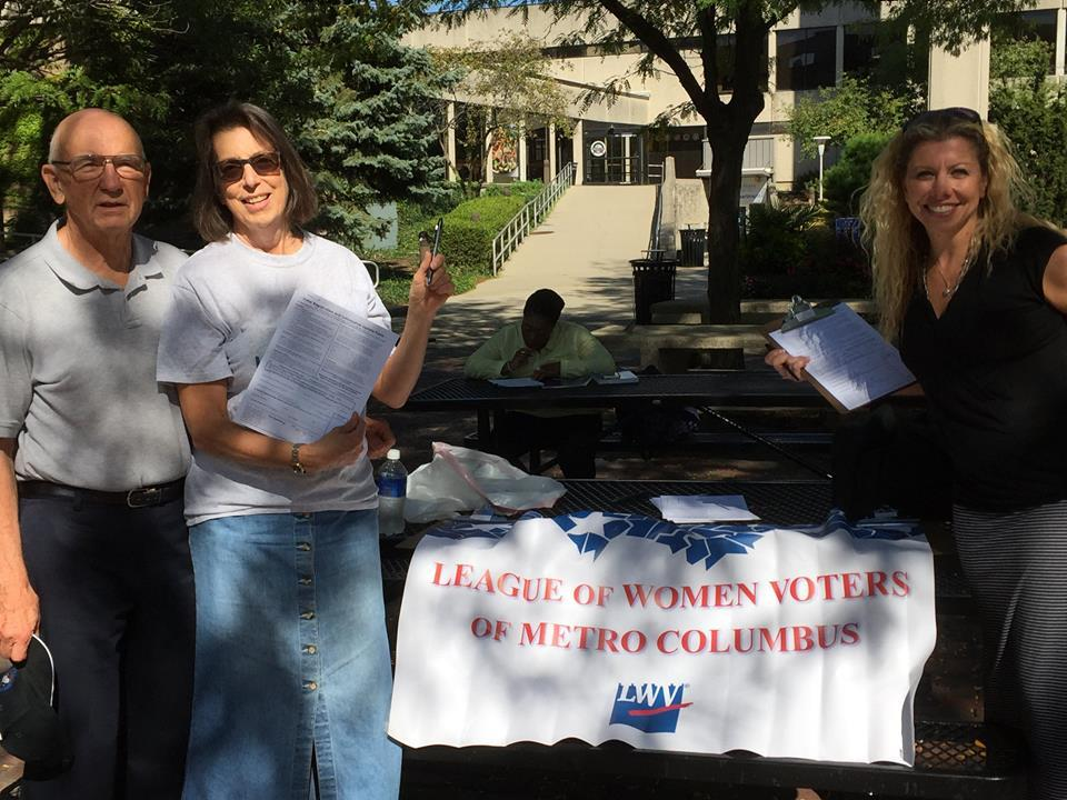 LWV Metro Columbus voter registration