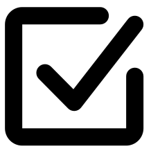 Checkbox Voter Service Icon