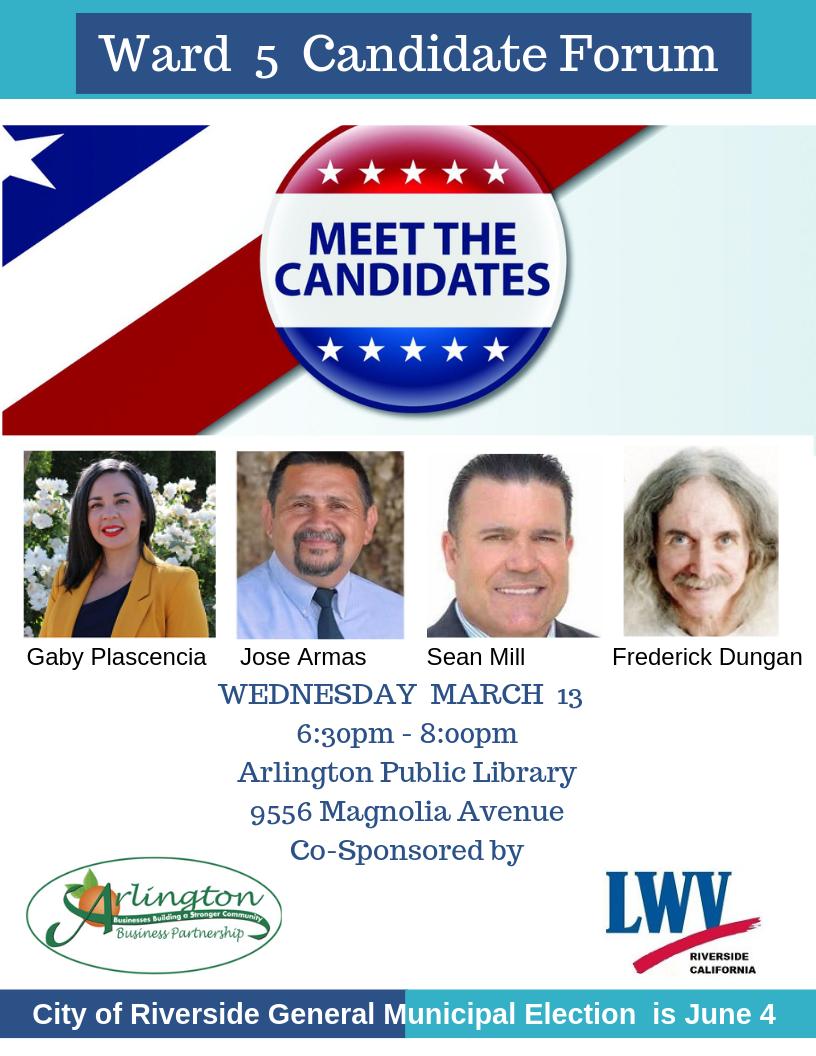 LWVR Ward 5 Forum