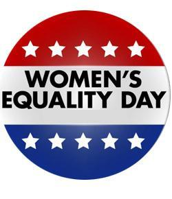 Women's Equality Day button