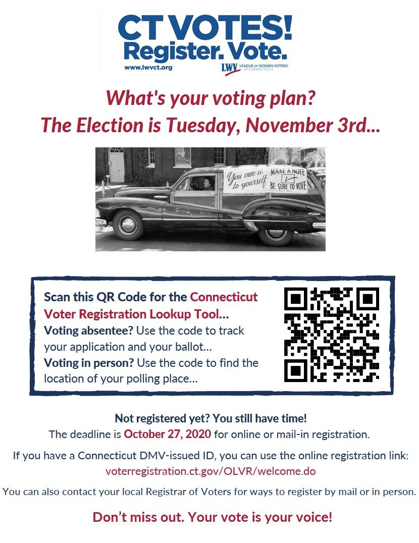 What's Your Voting Plan?