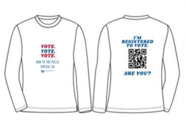 Run to the Polls T-shirt
