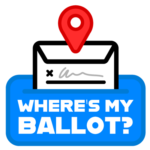 Where's My Ballot App Logo