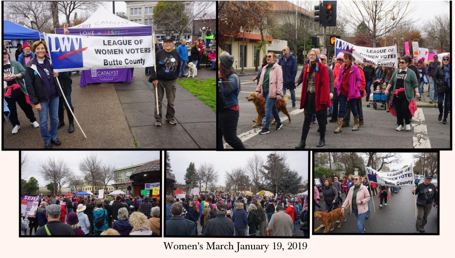 Women's March January 2019