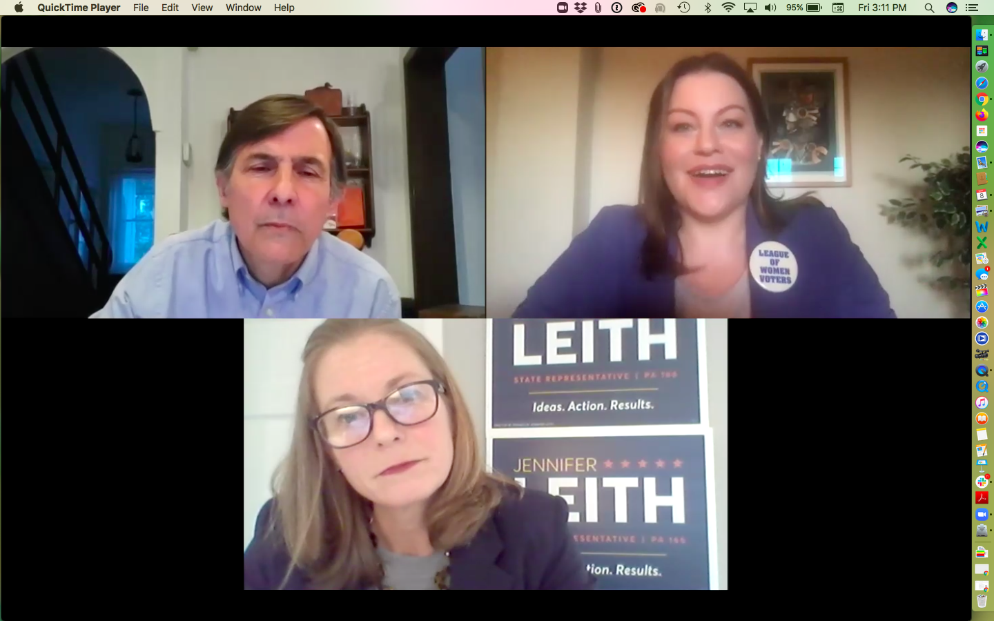 Virtual Candidate Forum Vitali/Leith