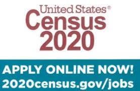 U.S. Census 2020 Apply online now.  2020census.gov/jobs