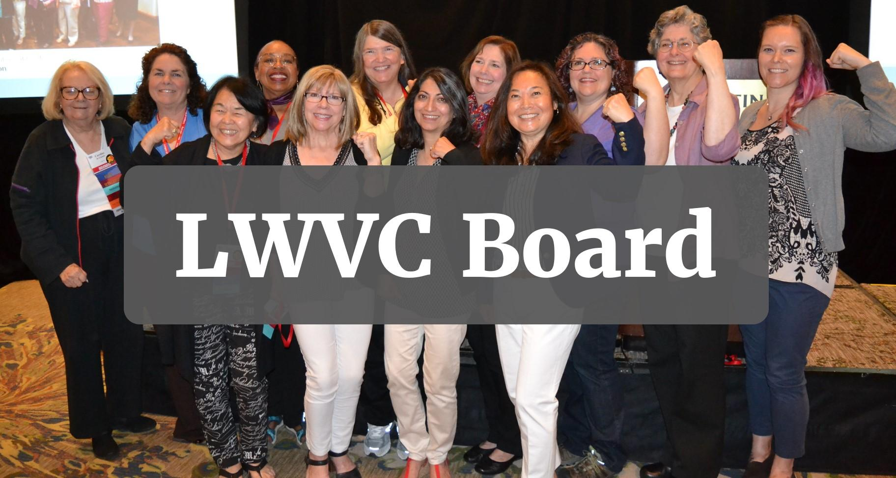 LWVC Board button
