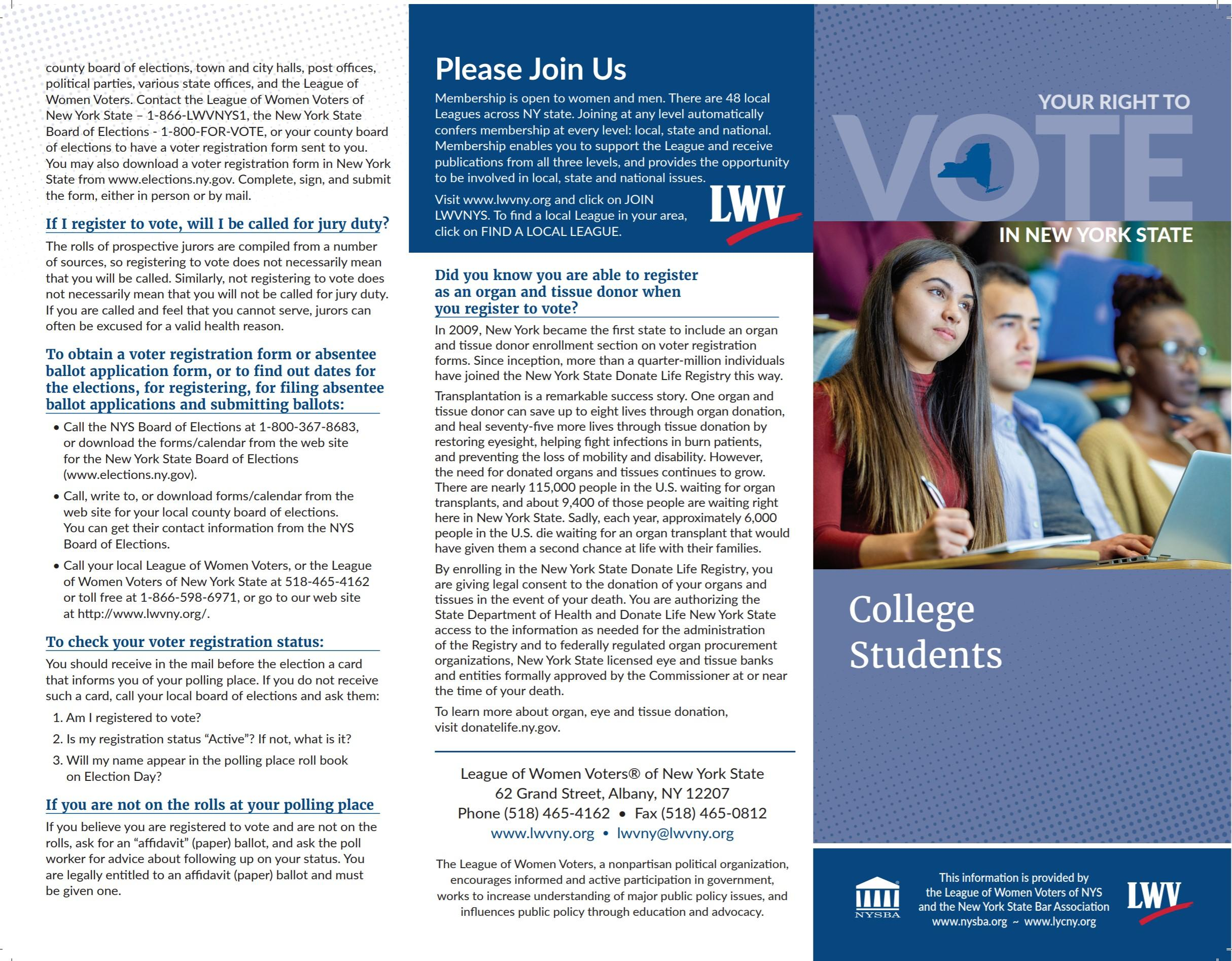 Student Info - page 1