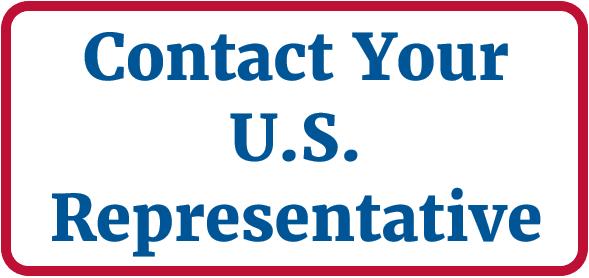 """""""Contact Your U.S. Representatives"""" button"""