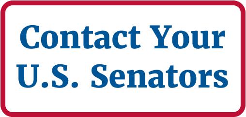 """Contact Your U.S. Senators"" button"