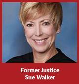 Former Justice Sue Walker
