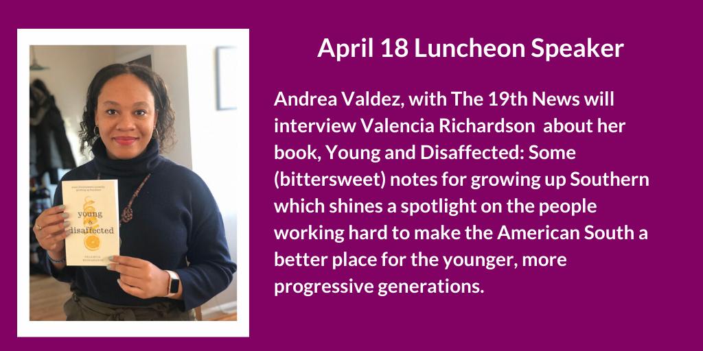 Valencia Richardson Luncheon Speaker